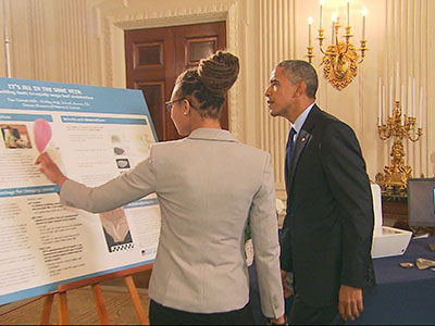 Obama: 'Science is for all of us'