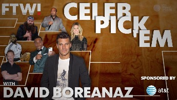 March Madness Celeb Pick 'Em with David Boreanaz