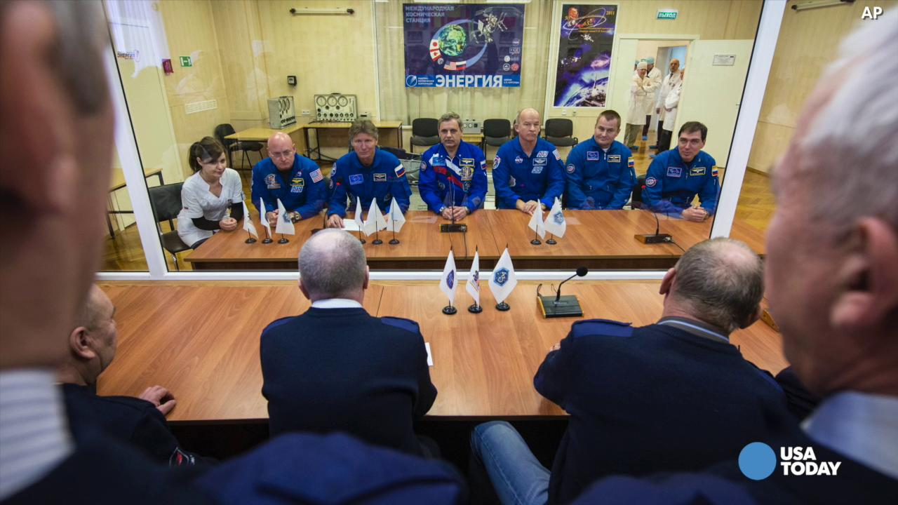 Talk a walk in space with ISS astronauts