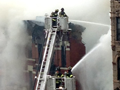 Watch: Massive fire rips building in NYC's East Village