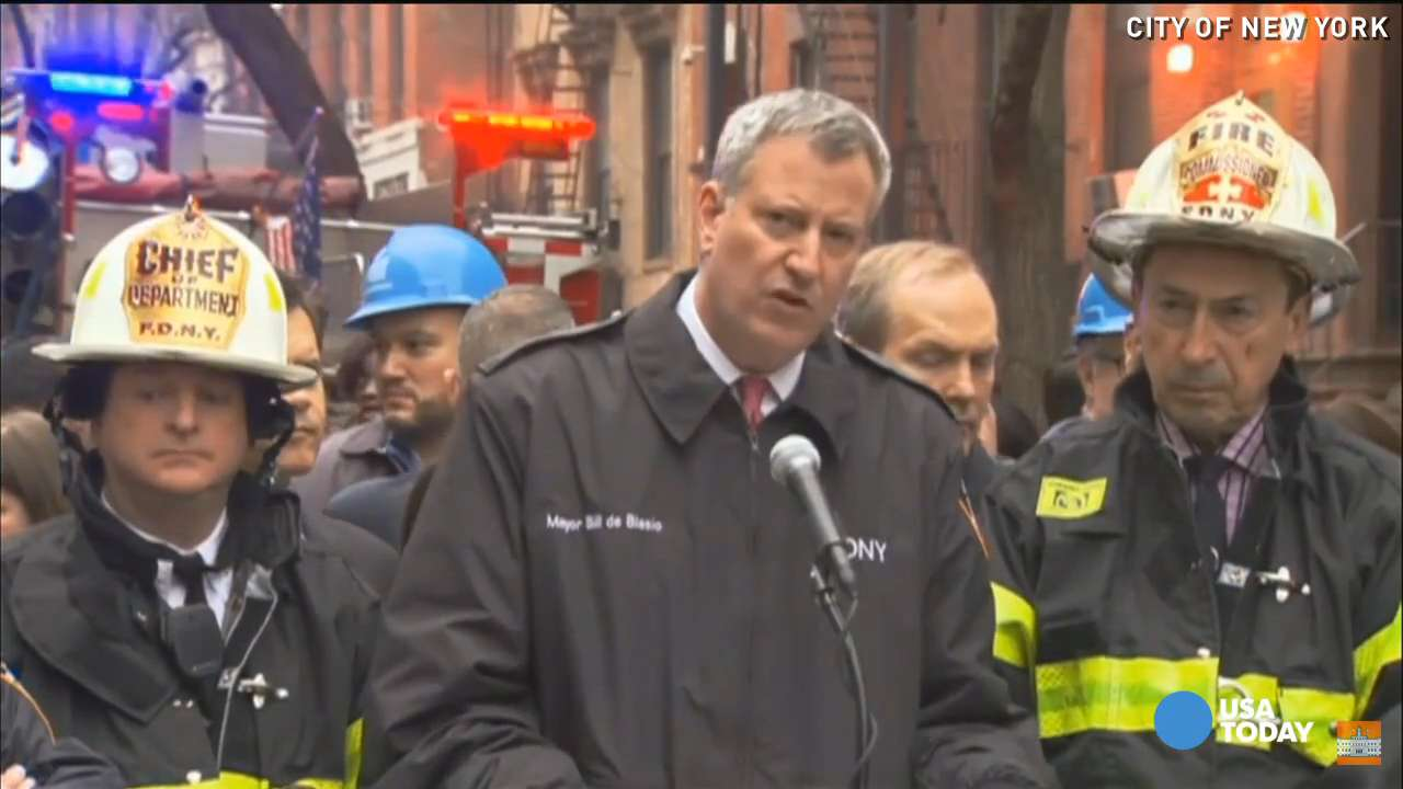 Raw: FDNY responds to massive fire in NYC's East Village
