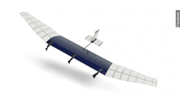 Facebook building plane-sized drones for global internet