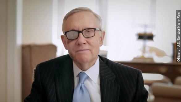 Senator Harry Reid won't seek re-election in 2016