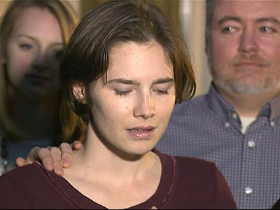 Raw: Amanda Knox grateful for saga's end