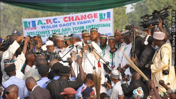 Nigeria votes in highly charged presidential election