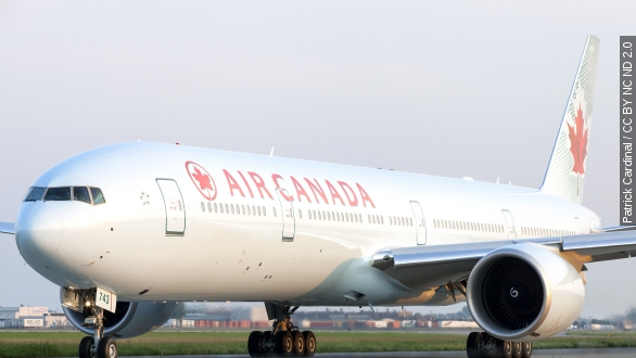 Passengers hurt after Air Canada flight slides off runway
