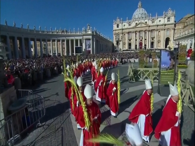 Around the world, Christians mark Palm Sunday