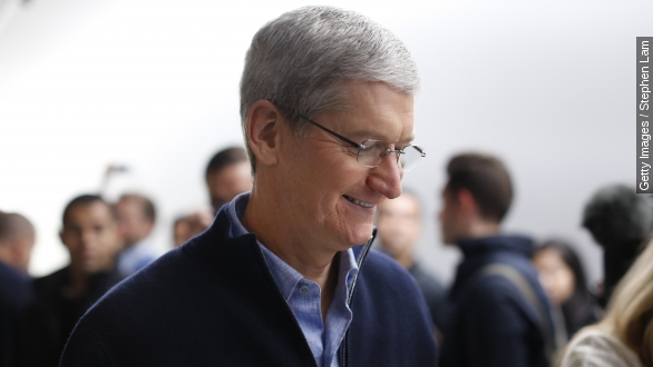 Tim Cook's public advocacy is a change for Apple
