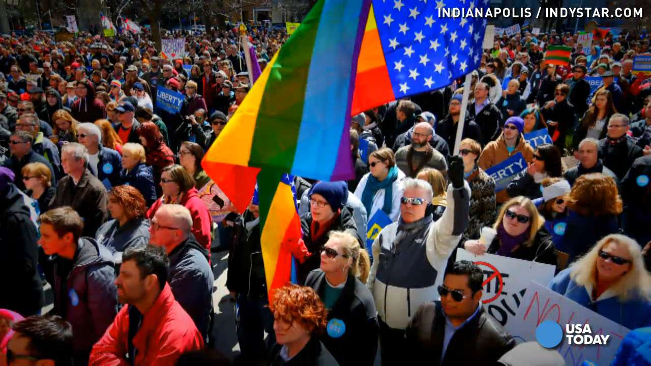 Backlash over Indiana's religious freedom law heats up