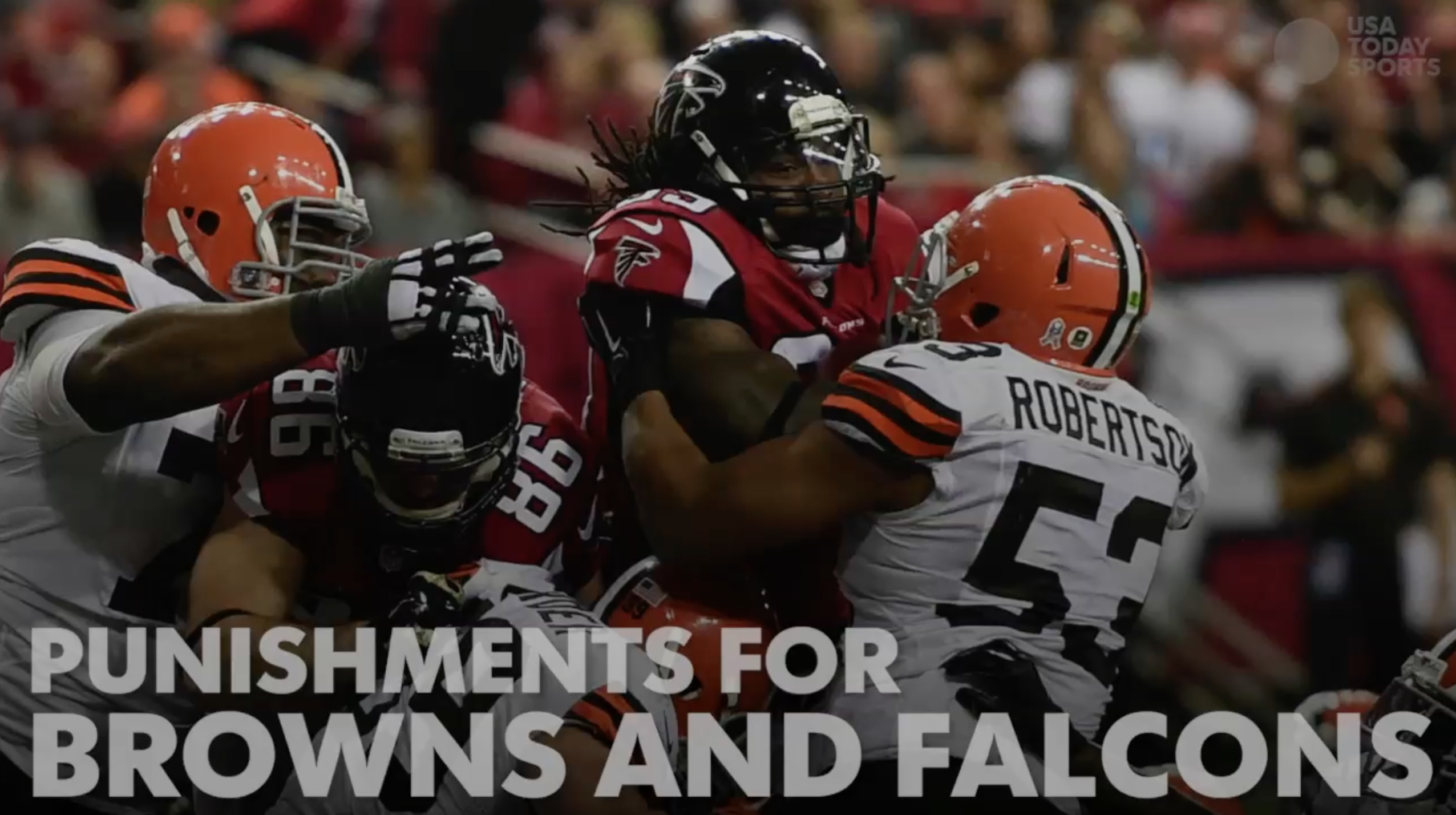Browns, Falcons punished by NFL for violations