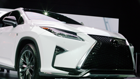Up close with the new Lexus RX