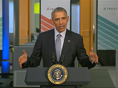 Obama rallies support for job training