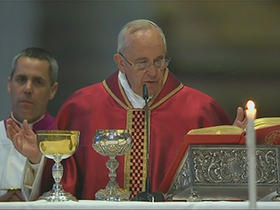 Raw: Pope leads Good Friday service