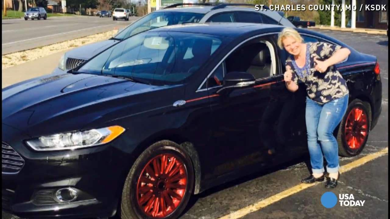 Woman thanks thieves for her \'pimped out\' car