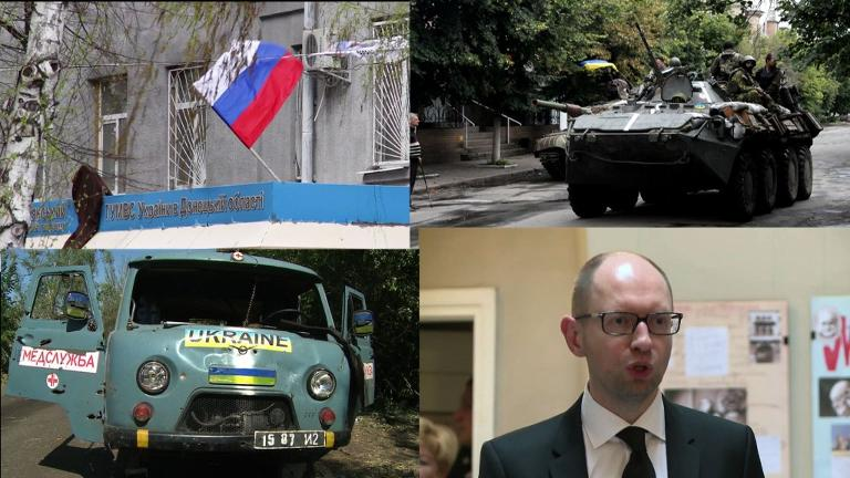Monday 6 April will mark one year since pro-Russian rebels seized the HQ of the regional administration building in Donetsk eastern Ukraine, marking the beginning of a rebellion against Kiev which has led to more than 6,000 deaths.