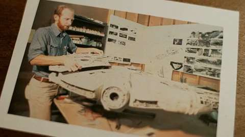 Exclusive clip: Making the Millennium Falcon
