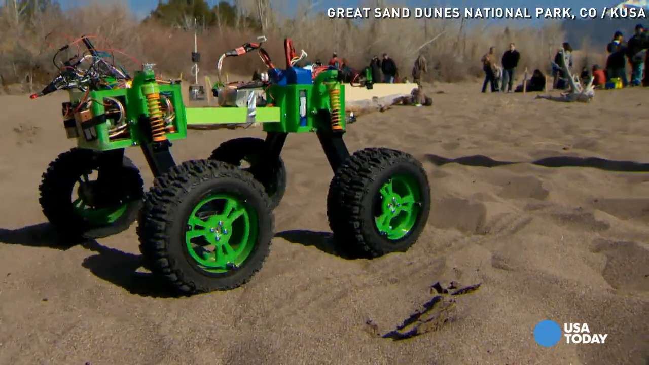 Cool 'Mars rovers' tested at Colorado national park