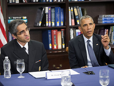 Obama: Climate change harming Americans' health