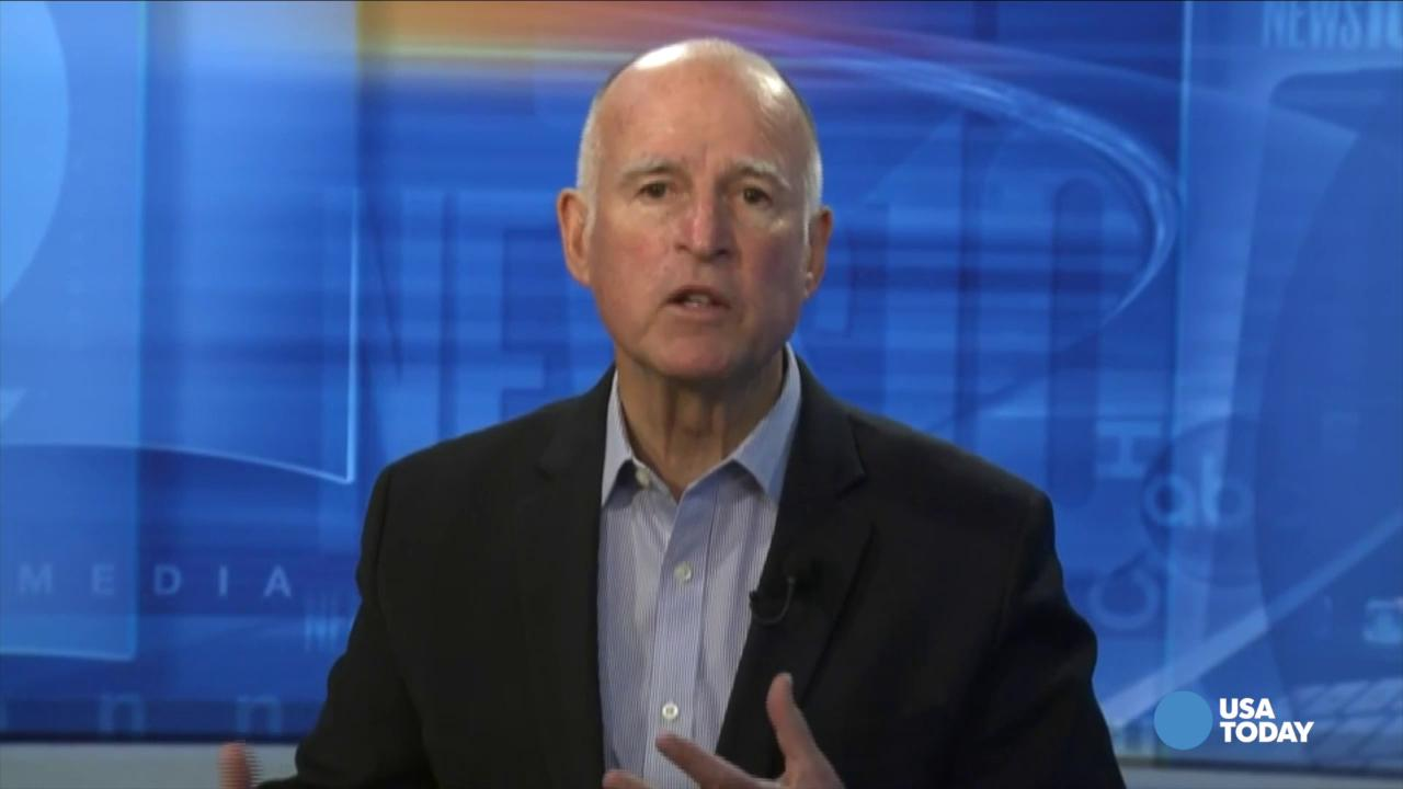 Gov. Jerry Brown sounds alarm on California drought