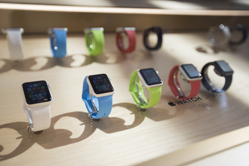 Buzz is hushed at Apple Watch's 'take-a-look' launch