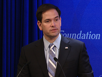 On tax day, Rubio wants changes