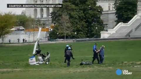 Gyrocopter pilot on Secret Service radar before stunt