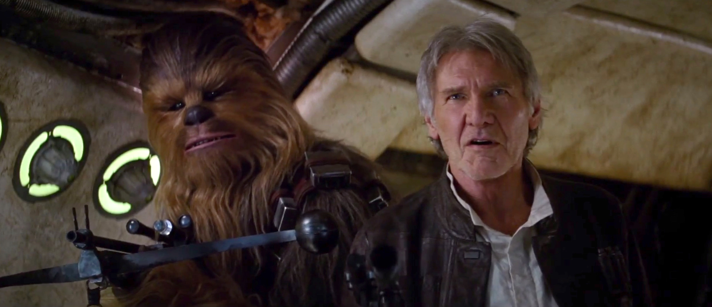'Star Wars' teaser: Chewie gives us chills   USA Entertainment Now