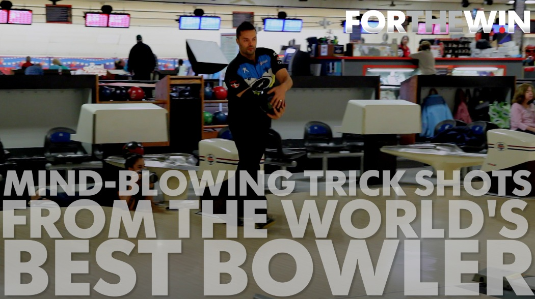 Mind-blowing tricks by the world's best bowler
