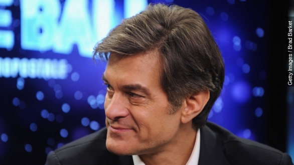 Dr. Oz under fire For 'quack treatments' yet again