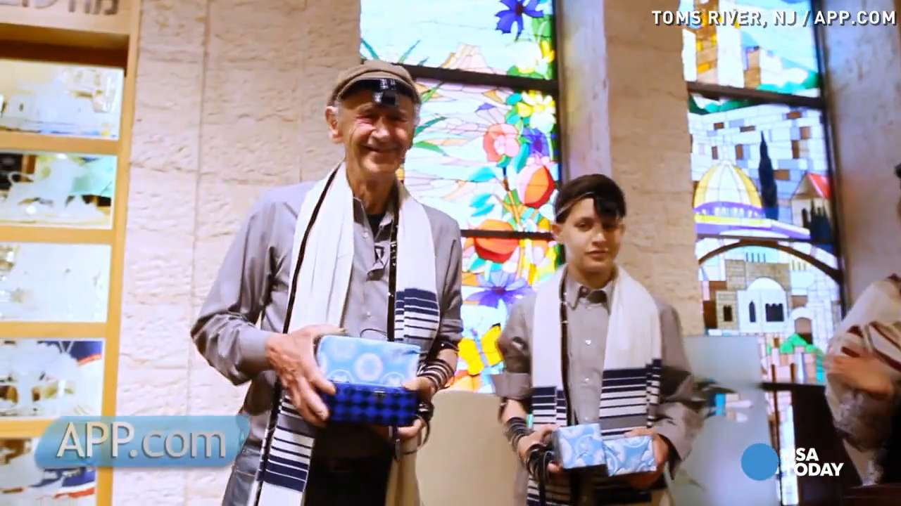 At 82, holocaust survivor celebrates Bar Mitzvah