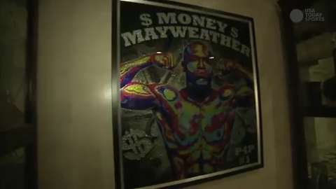 Floyd 'Money' Mayweather takes USA TODAY Sports behind the scenes to see where some of the money goes.