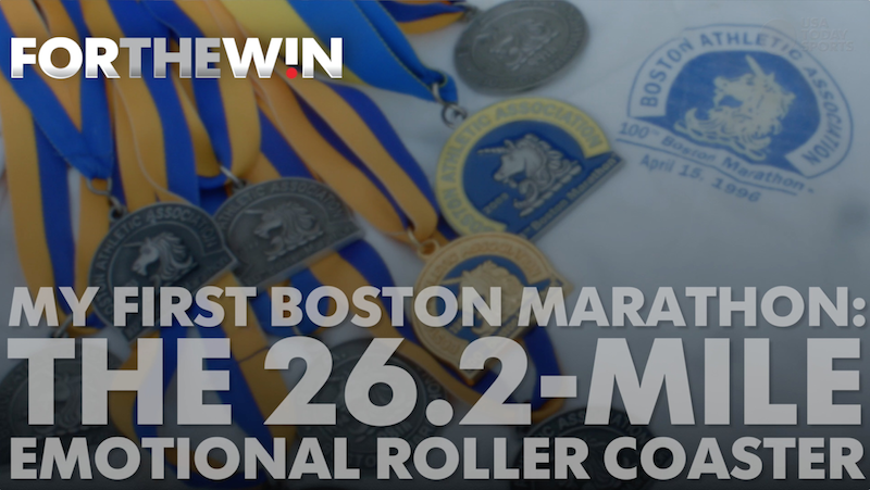 Boston Marathon veterans offer memories of their first race