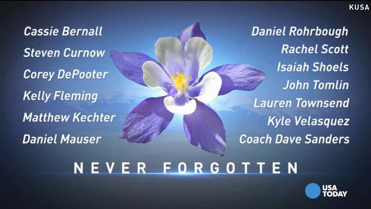 remembering columbine victims on 16year anniversary