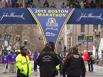 Security tight at Boston Marathon