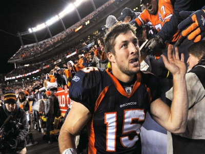 Tim Tebow's career in pictures