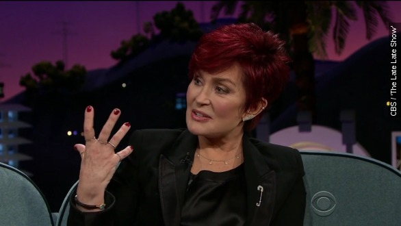 So Sharon Osbourne used to mail Poo boxes to her critics