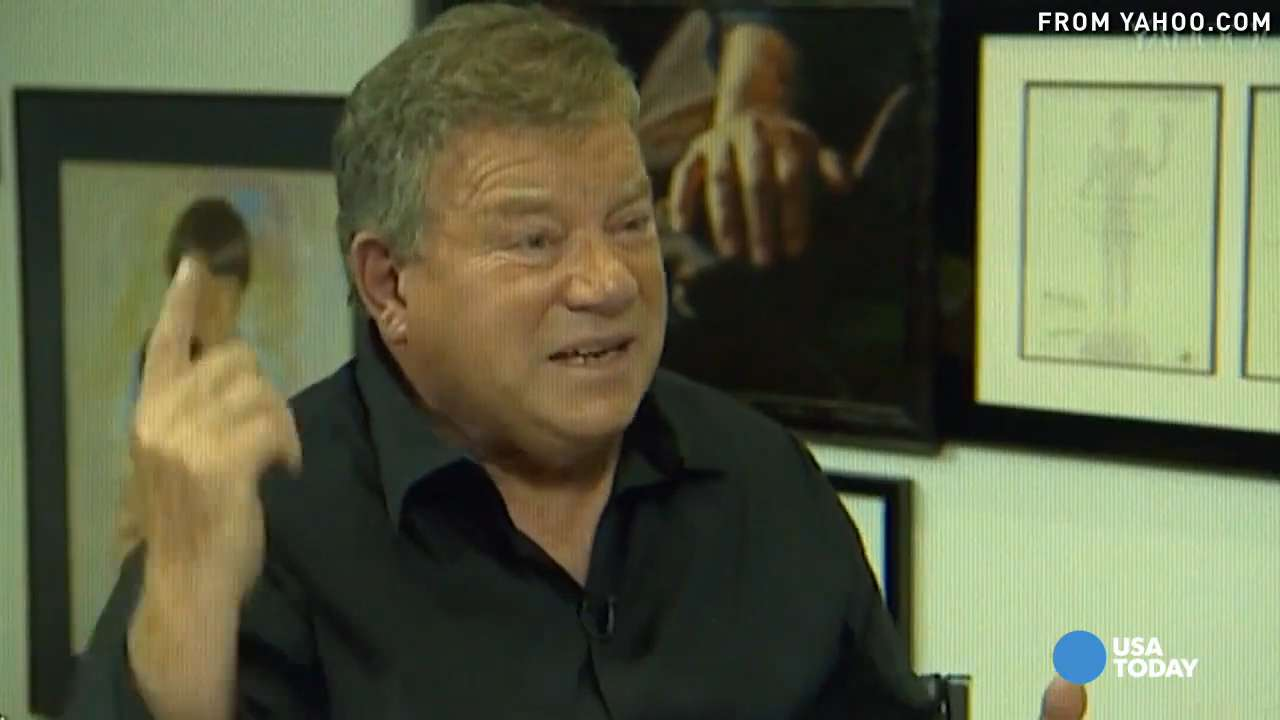 William Shatner thinks he has fix for Calif. drought