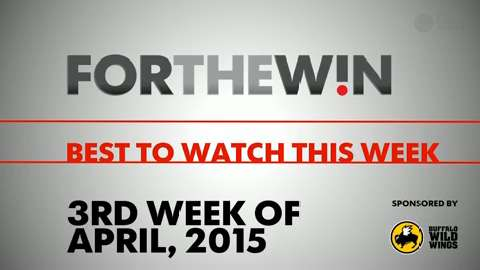 Best to Watch this Week - Week of April 20