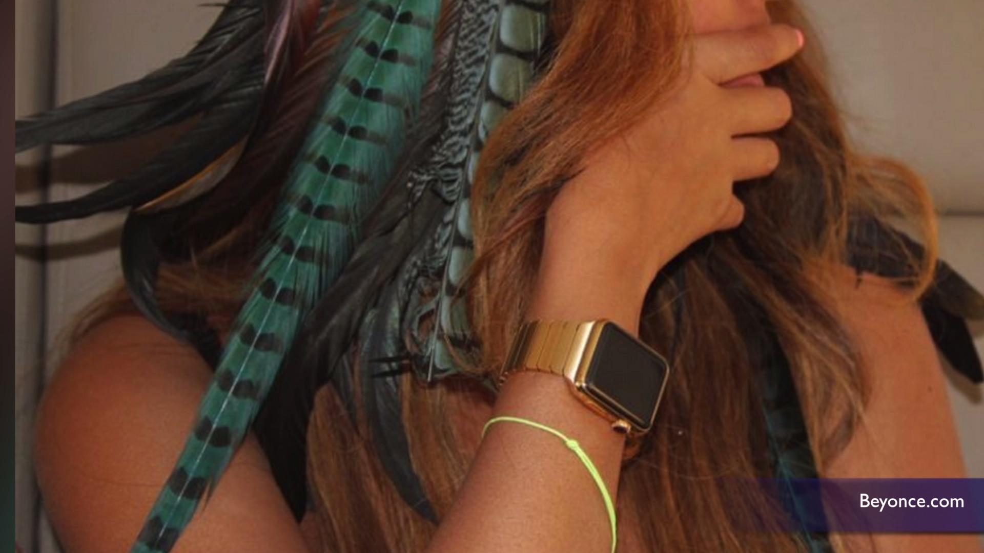 Beyoncé rocks exclusive gold band Apple Watch that's not for sale