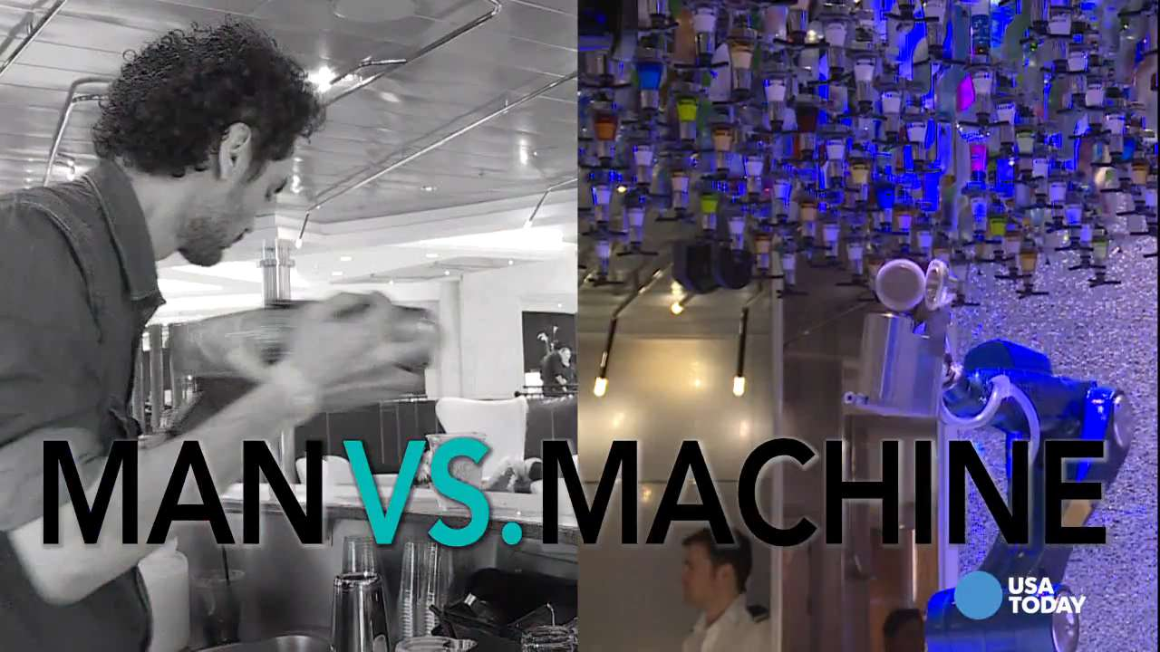 Man vs. machine: Who makes the ultimate mixed drink?