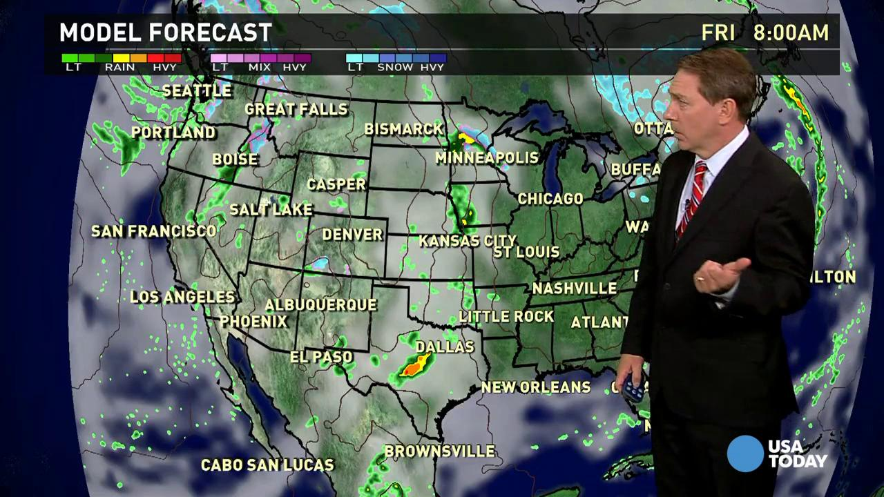Thursday's forecast: Breezy and cool in New England