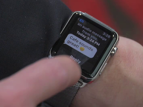 Messaging with the Apple Watch