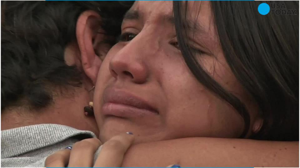 Mexican girl reunites with family after being wrongly taken