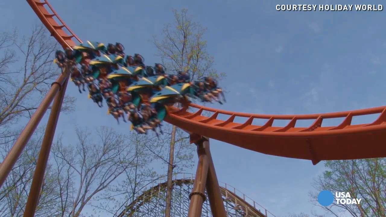 Thunderbird is nation's first launched wing coaster