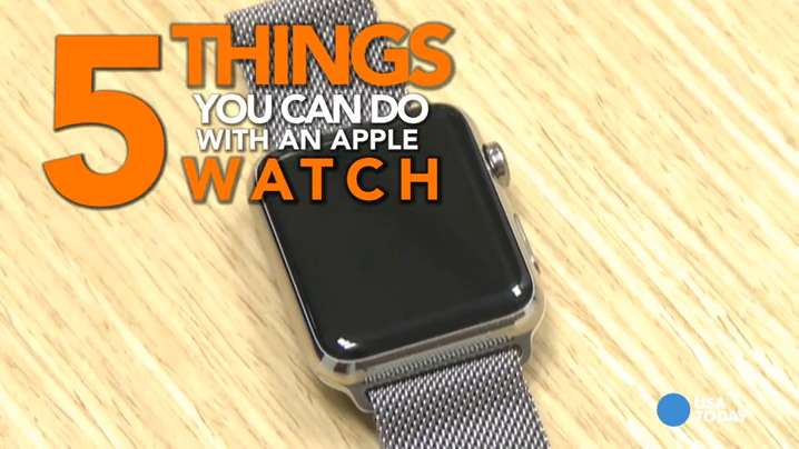 Learn to do 5 things on an Apple Watch in 60 seconds