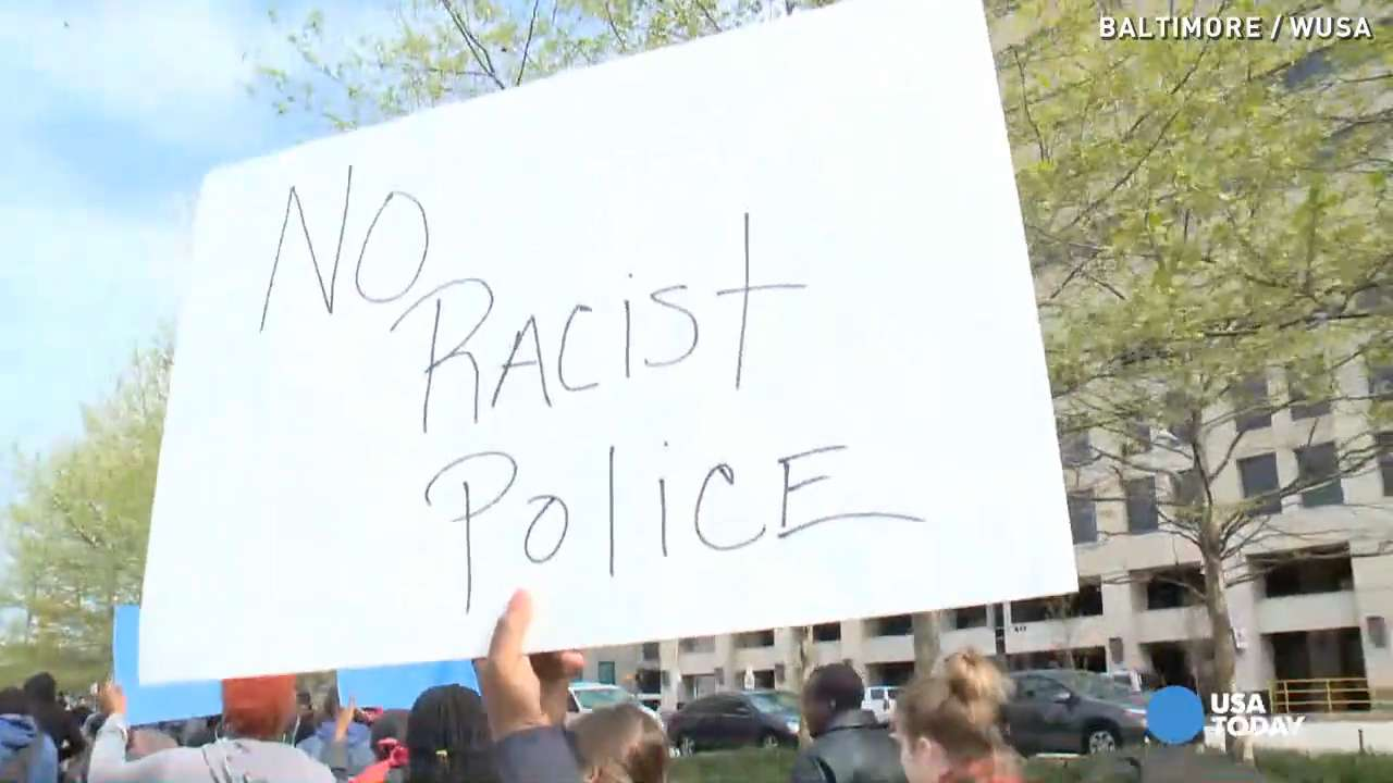 Protests heat up as hundreds rally for Freddie Gray