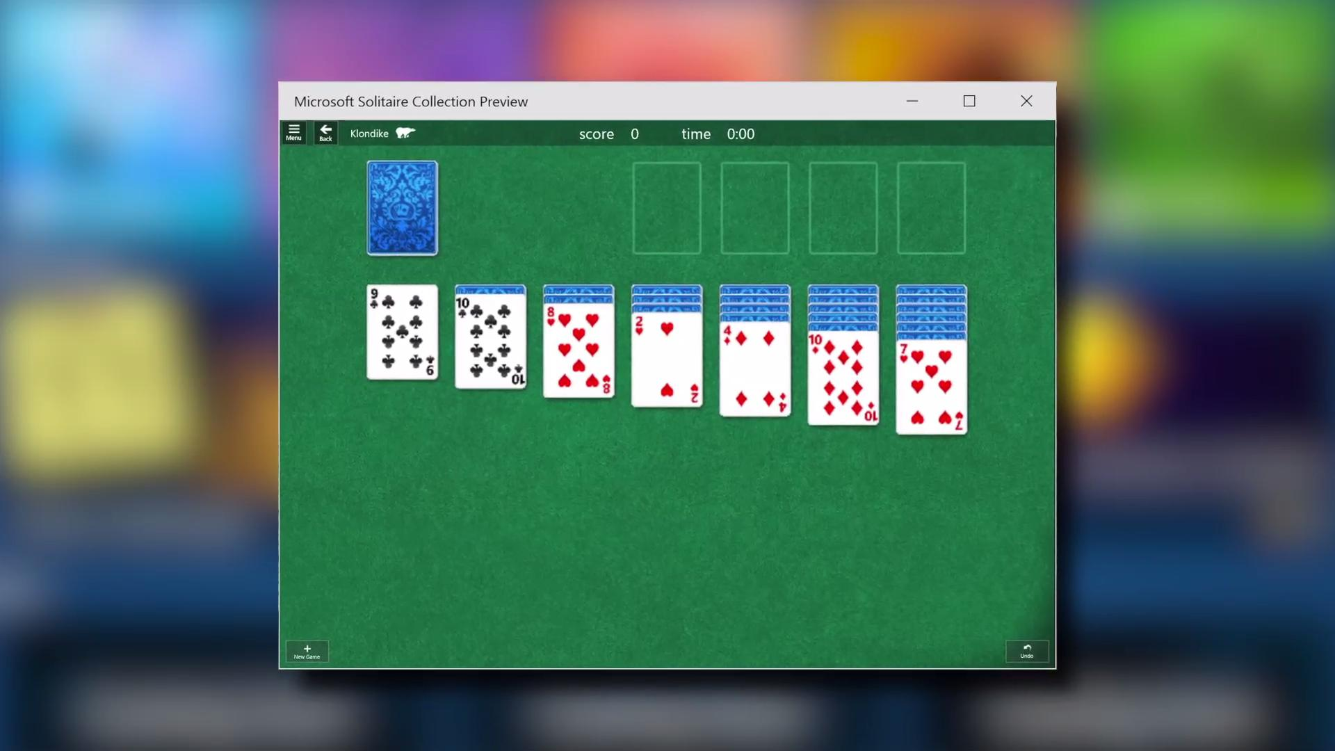 Solitaire to return with Windows 10