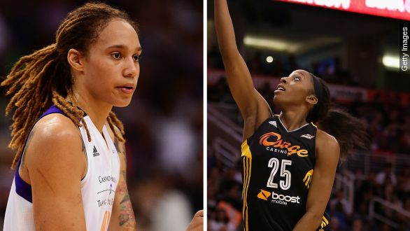 Griner, Johnson arrests present test for WNBA