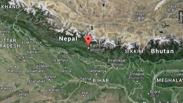 Massive earthquake hits Nepal, killing hundreds