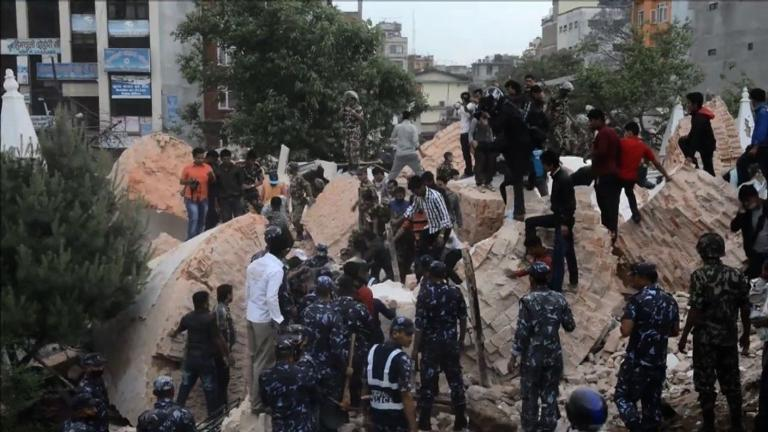 Hundreds dead in Nepal earthquake
